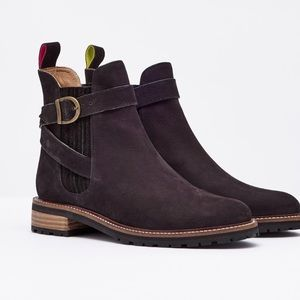 NWT Woman's Joules V_ HAMPTON ANKLE BOOTS